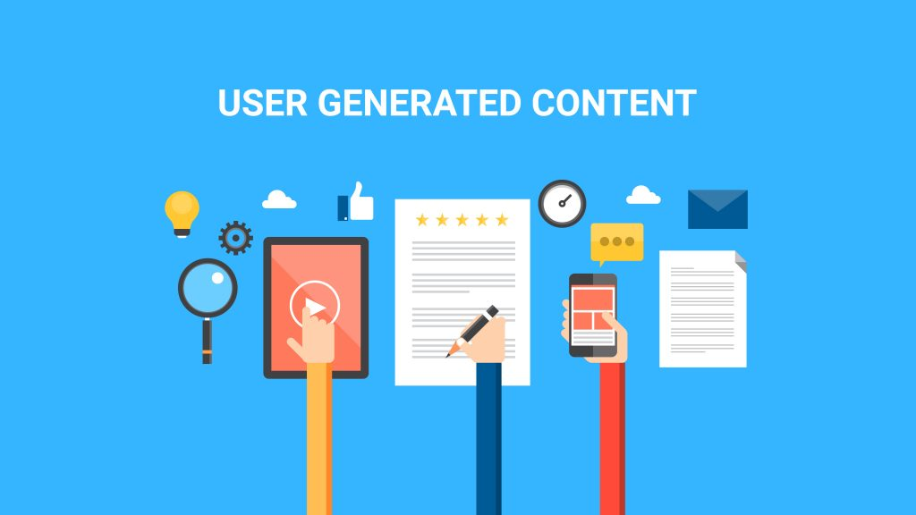Embrace User Generated Content