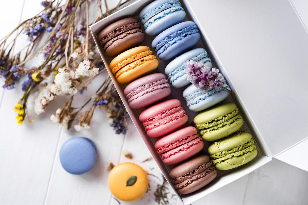 Macaroons as an Instagrammable Food