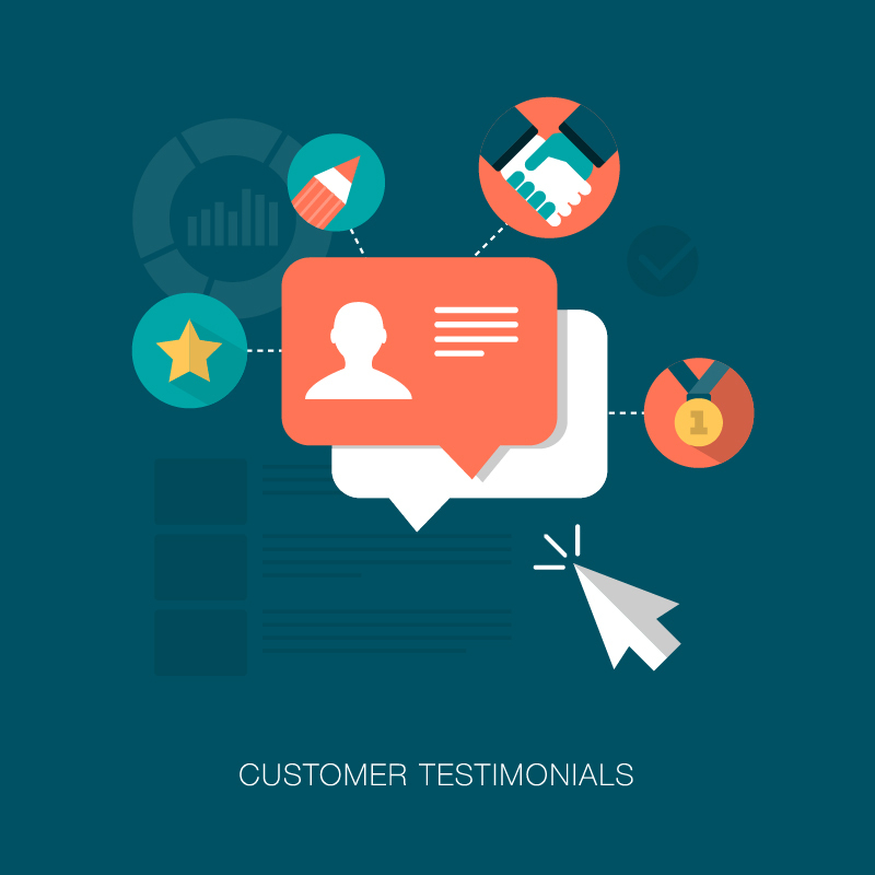 Curate customer content